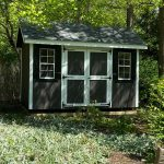 Custom wood shed in Long Island NY.