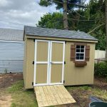 Wood shed in Nassau County NY.